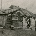 Shanty Town c. 1870, probably at Park Ave. & 50th St. From the Collection of the New-York Historical Society.