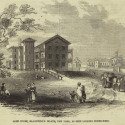 Blackwell's Island Almshouse. Courtesy of the New York Public Library. http://digitalgallery.nypl.org/nypldigital/id?805061