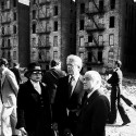 President Jimmy Carter on Charlotte Street in the Bronx, 1977. The New York Times/ Redux Pictures.
