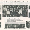 Greenwich House Music School flyer. Courtesy of Greenwich House Settlement.