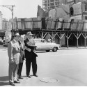 Robert Moses and Robert Wagner Jr. on a Housing Tour. Courtesy of the Library of Congress.