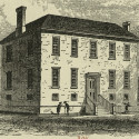 New York's First Poorhouse. Picture Collection, The New York Public Library, Astor, Lenox and Tilden Foundations.