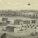 Nursery Establishment, Randall's Island, c. 1857. Print. Picture Collection, The New York Public Library, Astor, Lenox and Tilden Foundations.