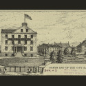 New York City's Second Almshouse. Picture Collection, The New York Public Library, Astor, Lenox and Tilden Foundations.