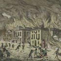 Fire of 1776. Picture Collection, The New York Public Library, Astor, Lenox and Tilden Foundations.